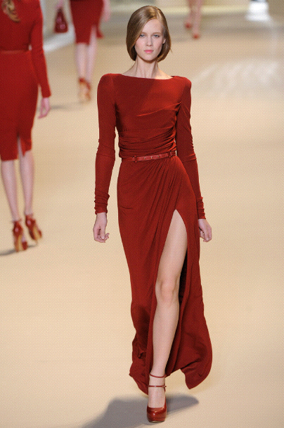 12f4a6557a1 Daisy Lowe has recently been in a large number of magazines looking  gorgeous in this red number at the Elie Saab Fashion show in Paris.