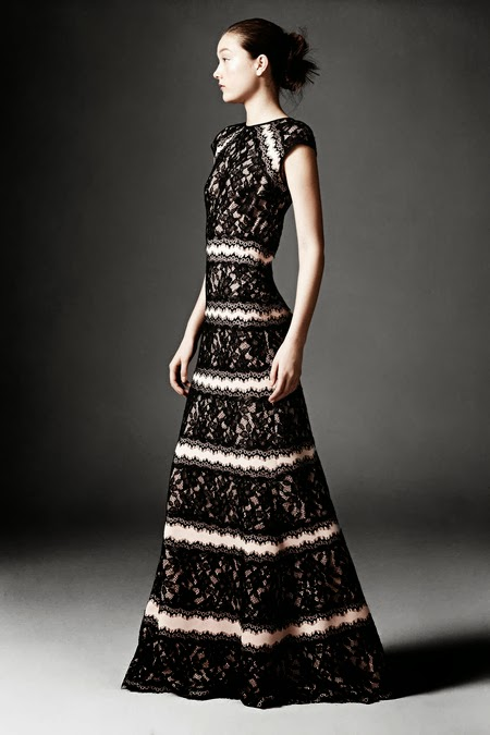 Modest design from Tadashi Shoji Pre-Fall 2014 collection | Mode-sty: style and modesty