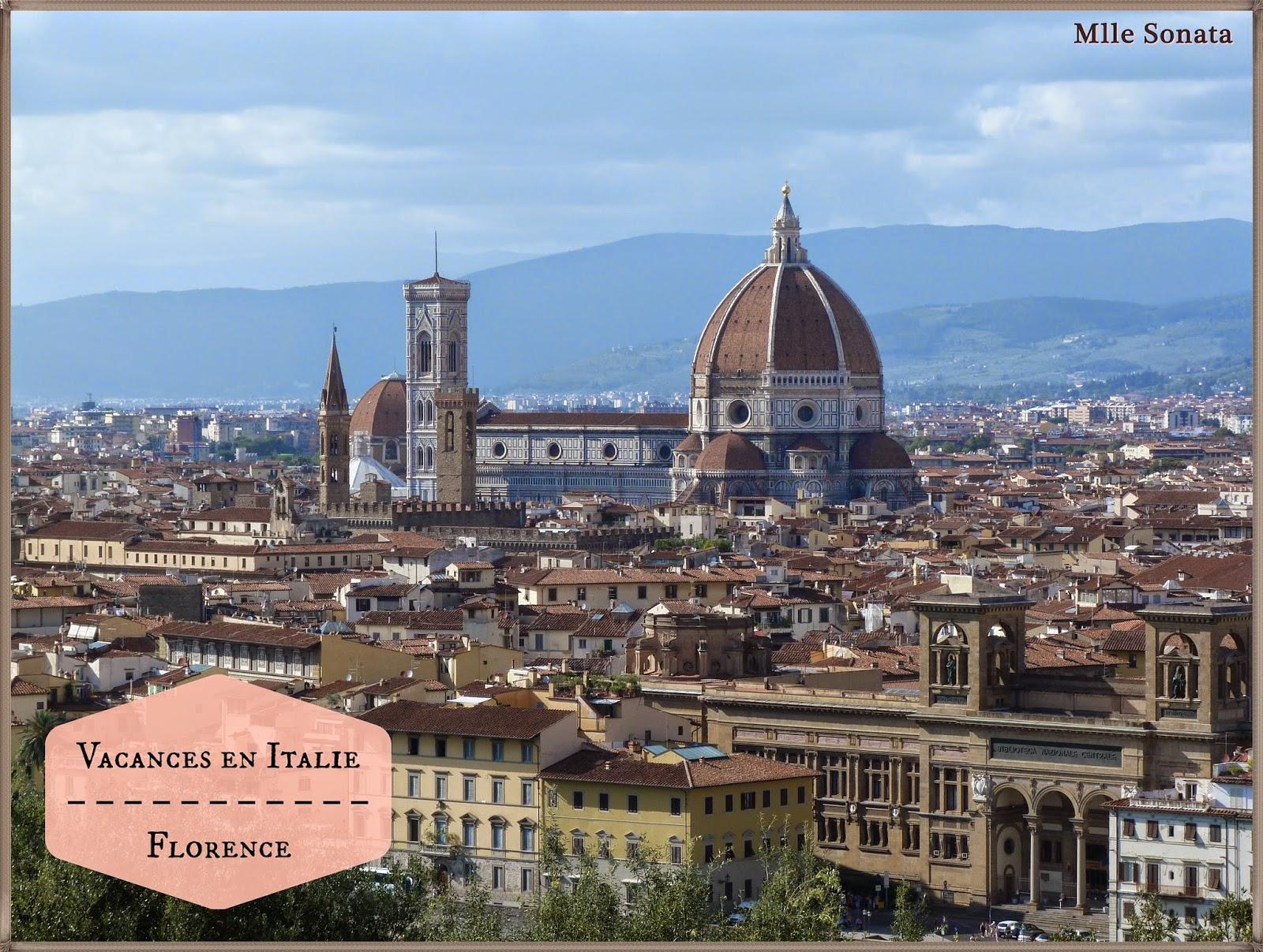 Voyage Italie Florence Santa Maria del Fiore