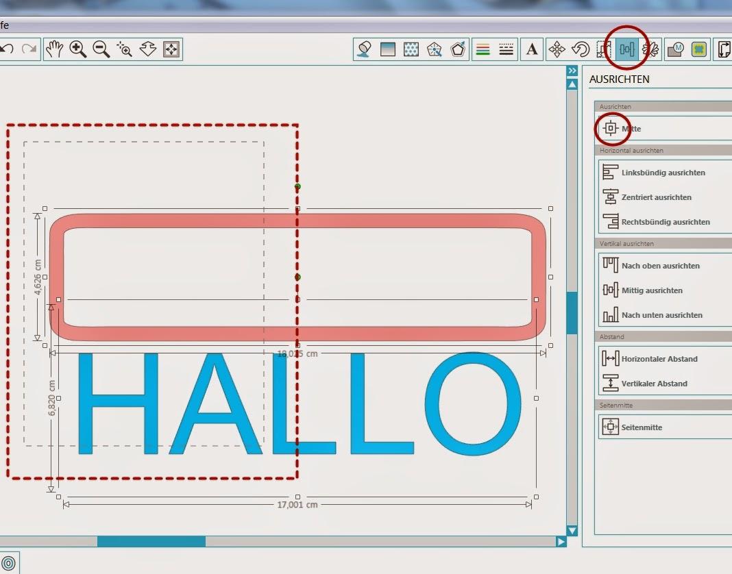 Papierpotpourri: Studio3: Umrahmung erstellen und mit Schrift ...