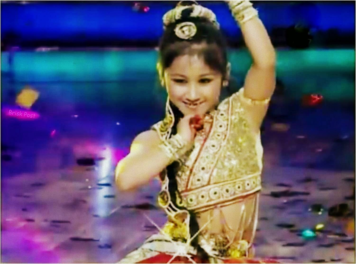 DID Little Master Anushka looking gorgeous