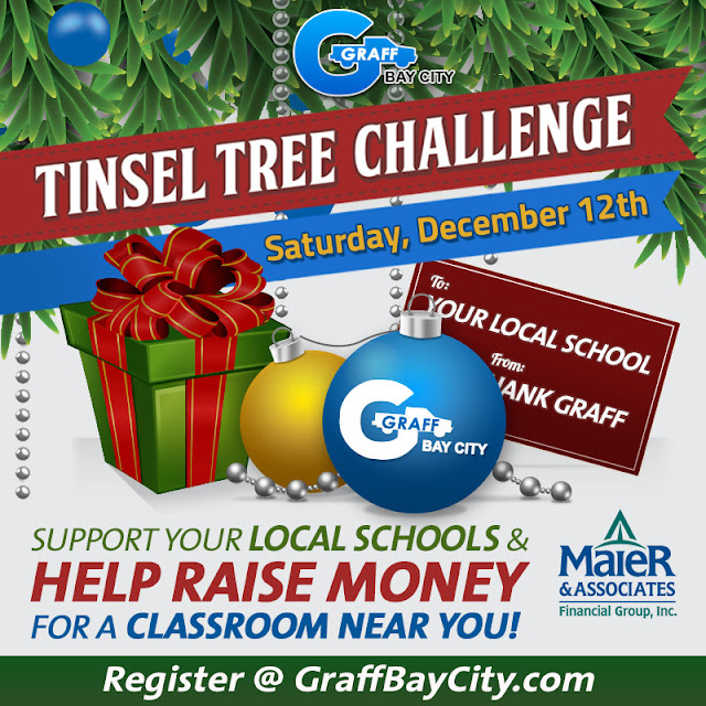 The Tinsel Tree Challenge at Graff Bay City