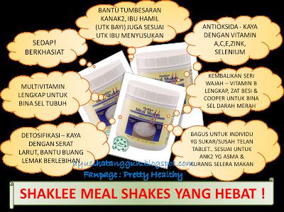 Meal Shakes Vitamin lengkap untuk anak-anak