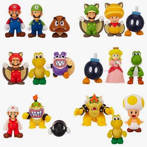 Mario Cake Figures