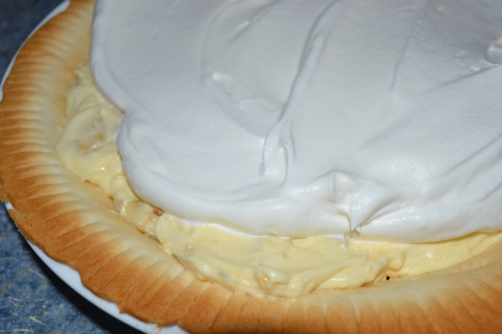 TIP GARDEN: Banana Cream Pie