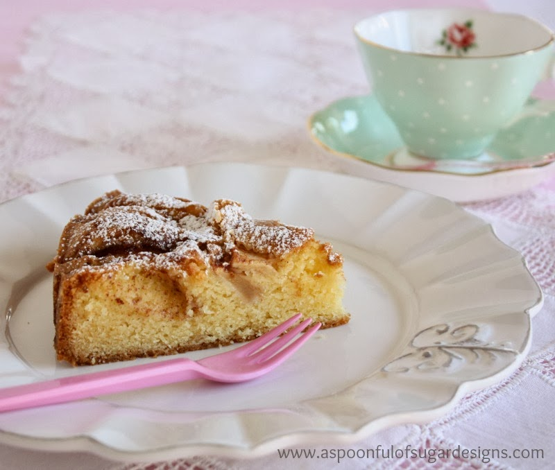 German Apple Cake A Spoonful Of Sugar