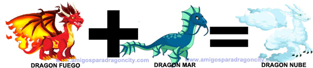 como sacar el dragon nube en dragon city