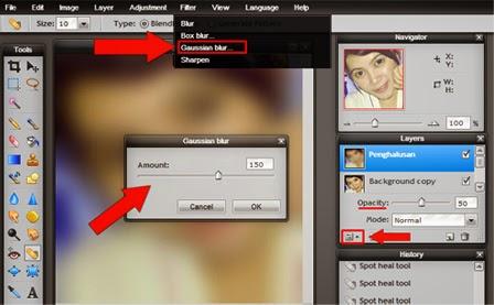 Edit Foto Menghaluskan Wajah dengan Mudah