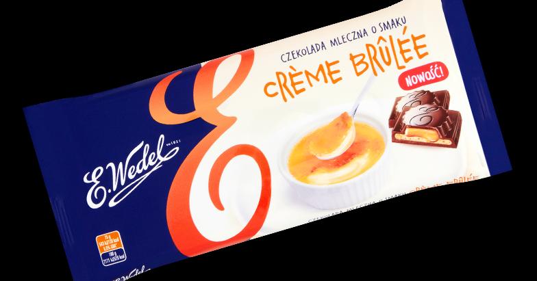 Sex, Coffee & Chocolate: Wedel Creme Brulee mleczna z