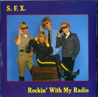 S.F.X. - Rockin\' With My Radio ,Vinyl 7\