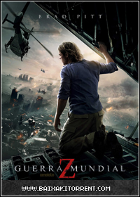 Capa Baixar Filme Guerra Mundial Z (World War Z) (2013) DVDRIP AVi   Torrent Baixaki Download
