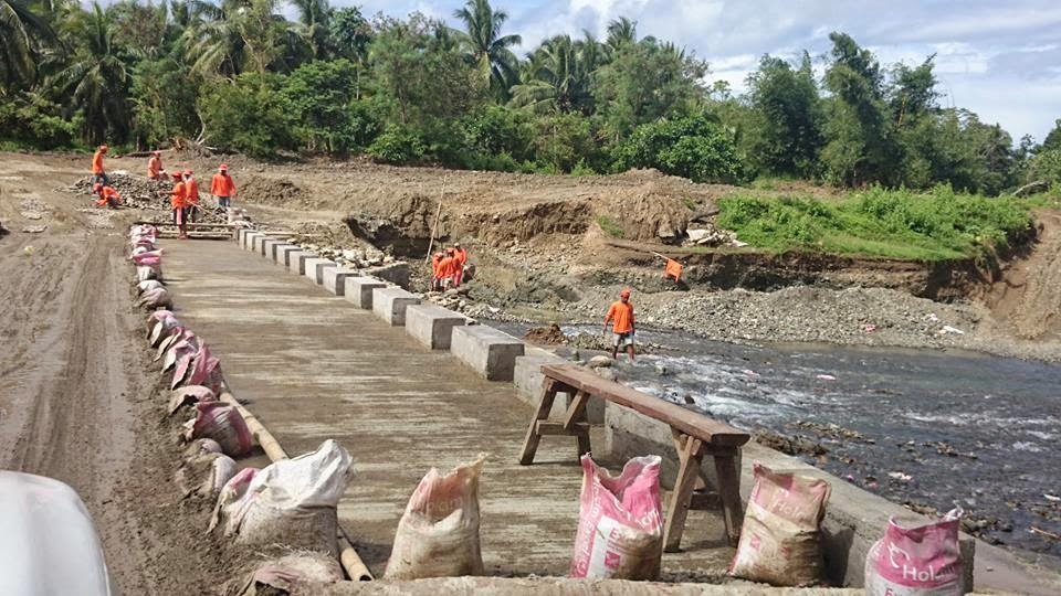 Status of Kabuluan Bridge