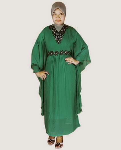 20 Contoh Model Busana Baju Muslim Untuk Orang Gemuk