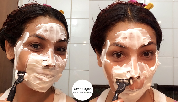 afeitar mujeres