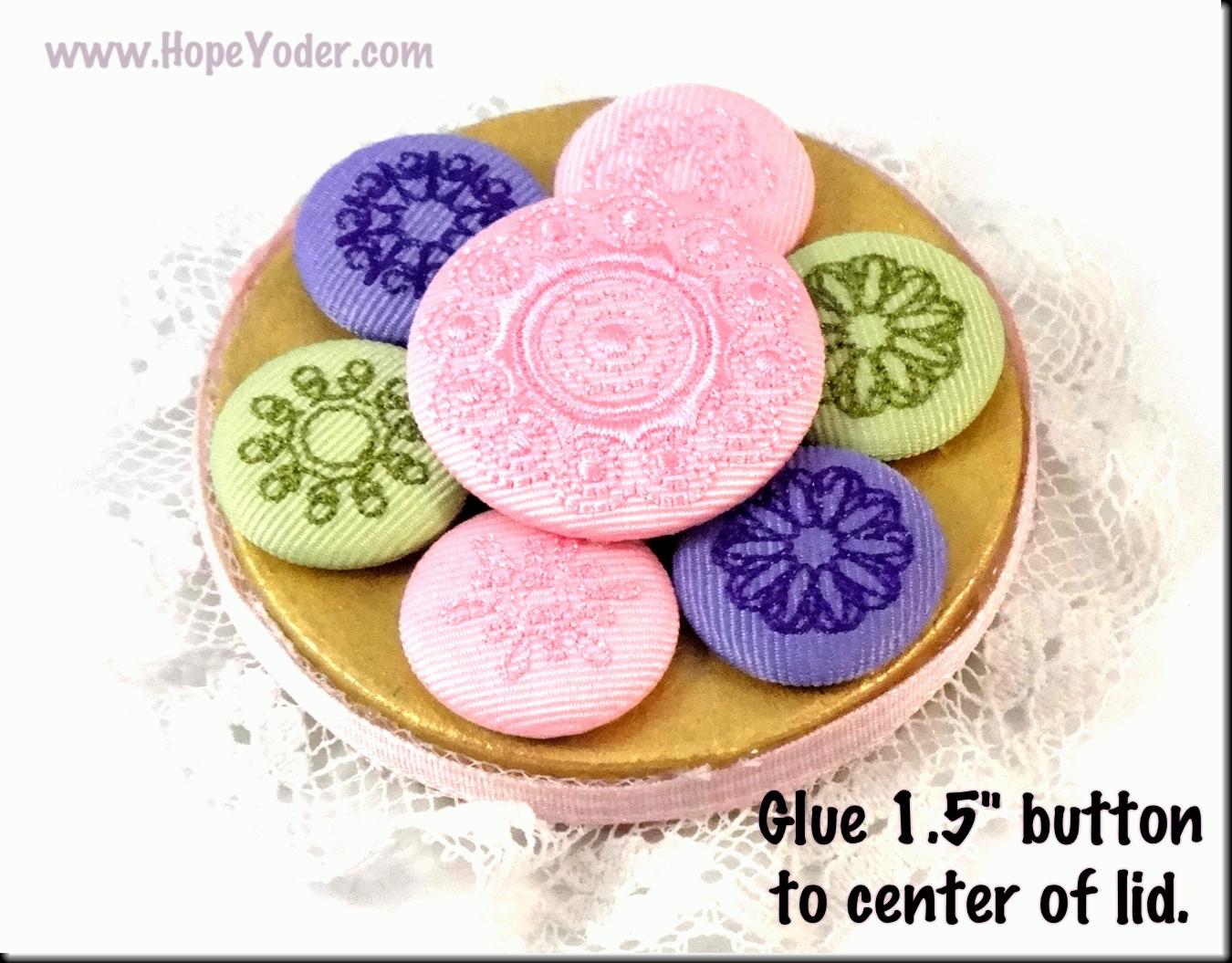 yoder button machine