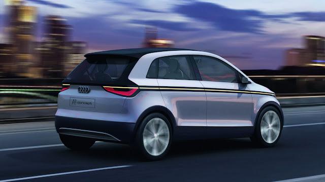 2019 Audi A2 Concept Car