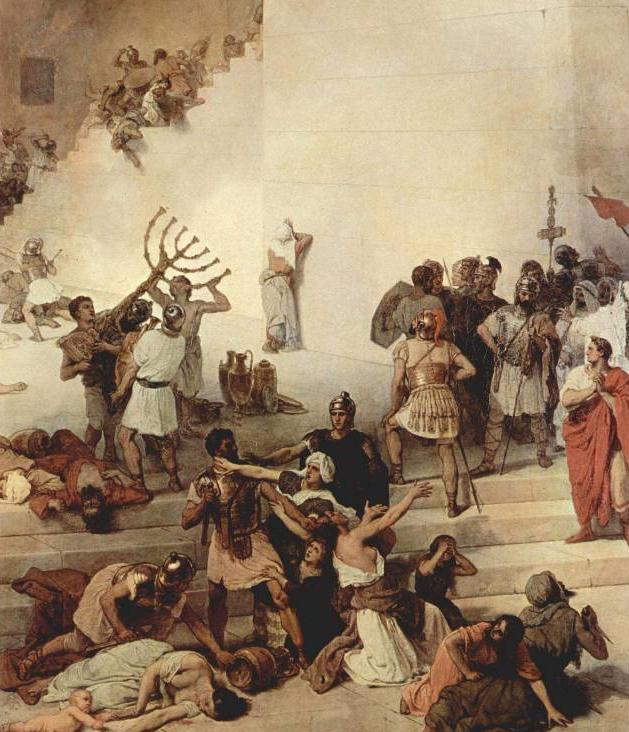 joodse opstanden tegen romeinen chronologie