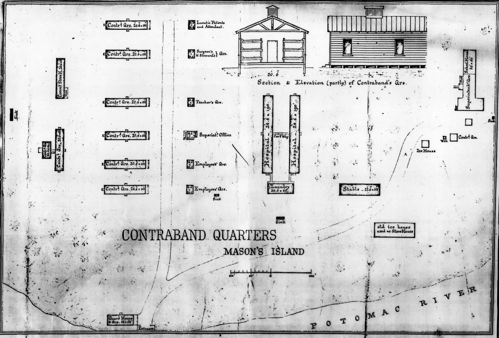 Civil War Washington DC The St US Colored Troops At Roosevelt - Washington dc map layout