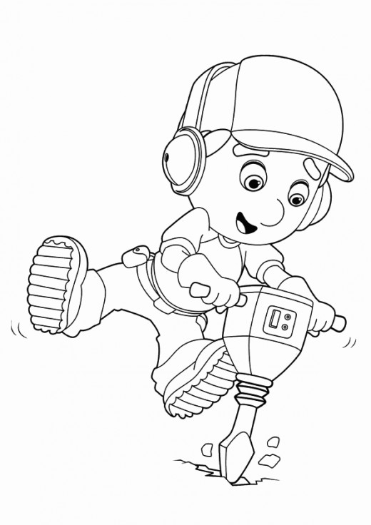 handy manny coloring pages e - photo#10