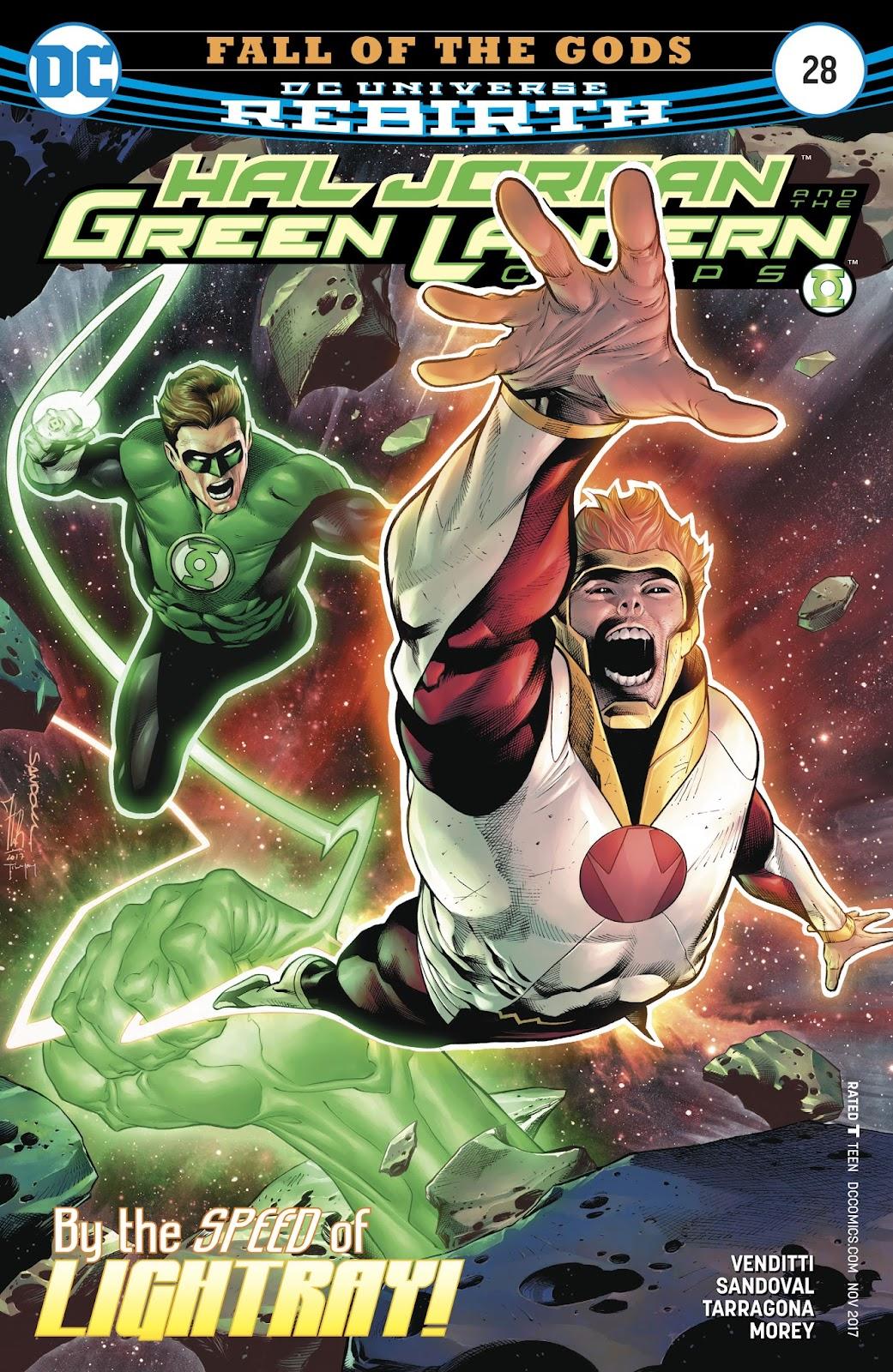Hal Jordan & the Green Lantern Corps: Rebirth issue 28 - Page 1