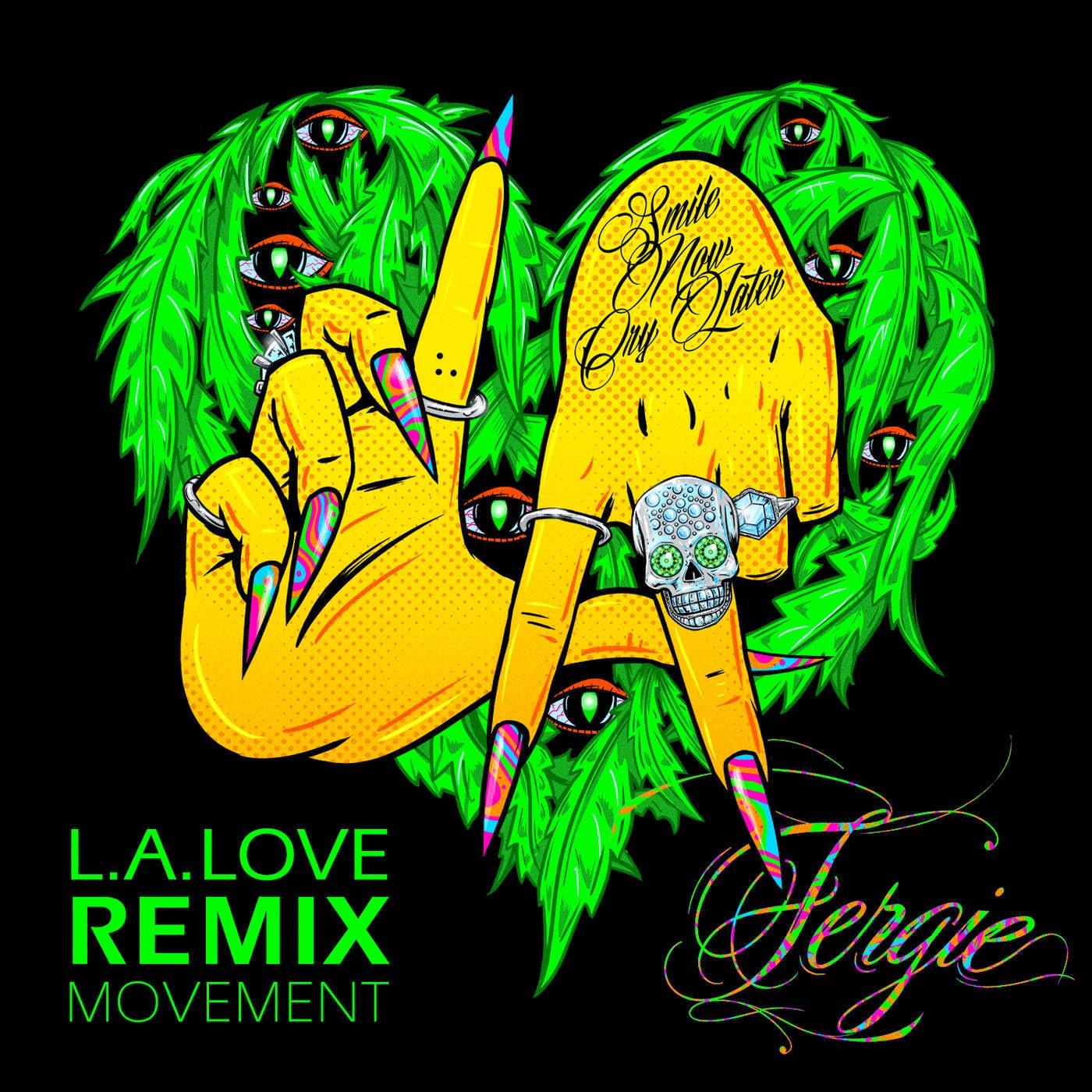 Fergie - L.A.LOVE (la la) [Remix Movement] - EP Cover