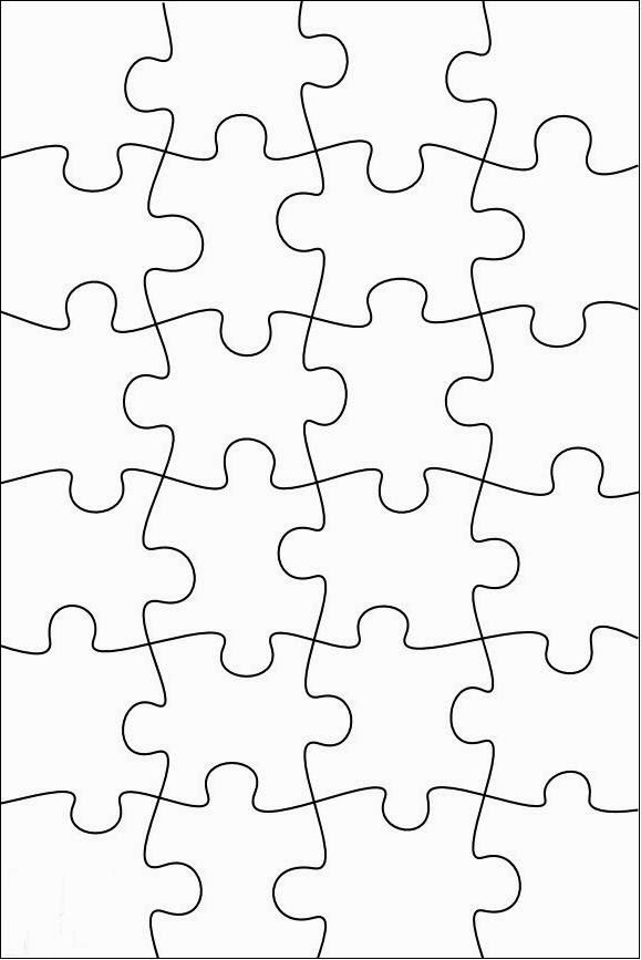 RobbyGurls Creations DIY Print Color Cut Jigsaw Puzzles