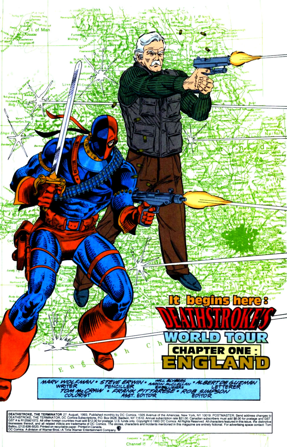 Deathstroke (1991) Issue #27 #32 - English 2