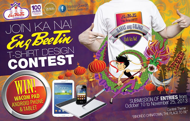 T-Shirt Design Contest from ExploreBinondo.com