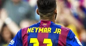 Barcelona 6 x 0 Granada: Veja os três gols de Neymar