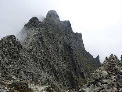山と兎: 西穂高岳からジャンダルムを経て奥穂高岳へ。