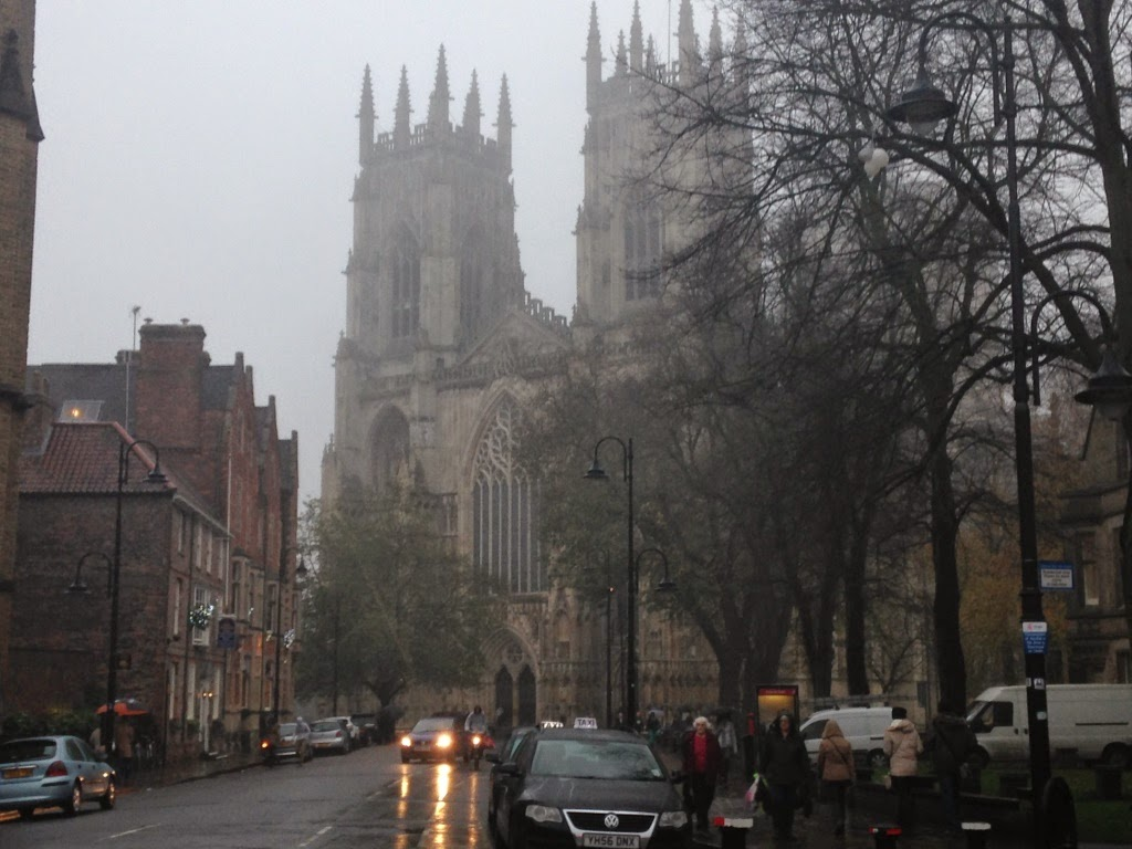 York Minster in the fog