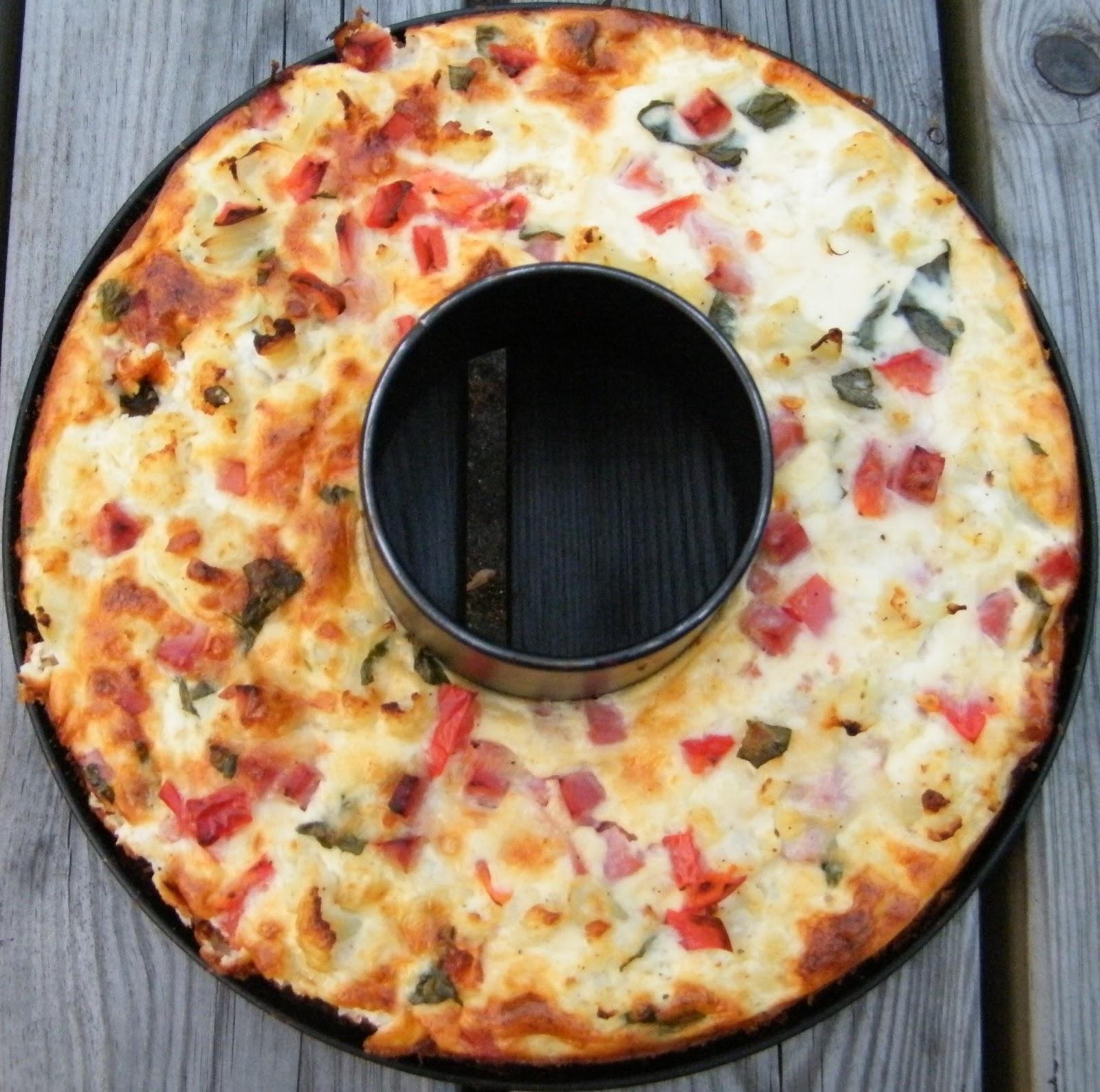 Comer rico y sano: Pastel de coliflor al horno - photo#50