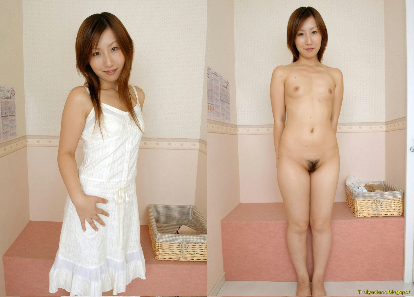 asian dressedundressed series Truly Asians: Japanese Amateur Ladies Posing Dressed and Undressed (103  pics)