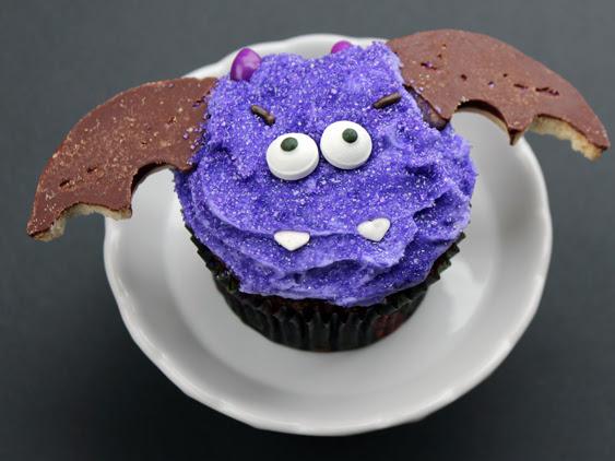 Bat Bite Cupcakes