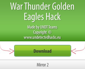 Download War Thunder Golden Eagles Hack