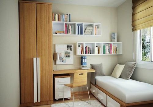 Galeri ide Desain Kamar Tidur Cantik Minimalis yg fungsional