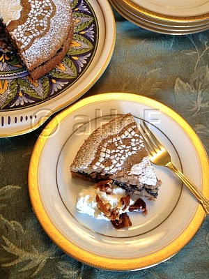 Chestnut Almond Torte