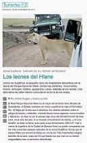 los leones del hlane
