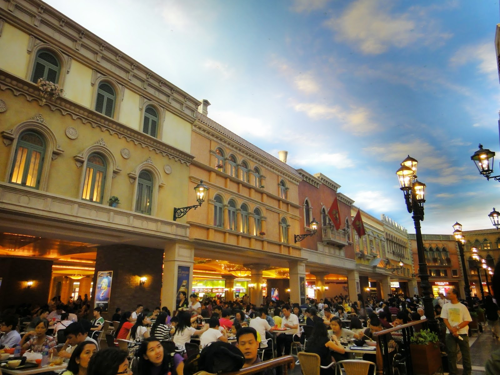 The Venetian Food Court Macau