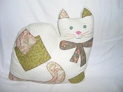 almohada gatito