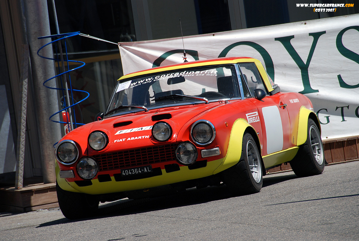 Mere Fiat 124 Abarth