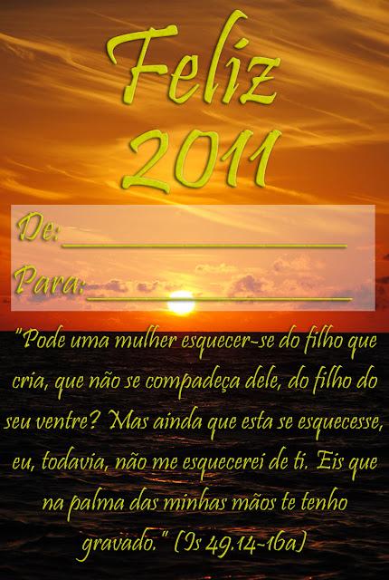 Cartão de Feliz Ano Novo 2012: Modelos Grátis para imprimir - De: para: