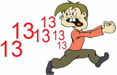 the fear of the number 13 triskaidekaphobia If the number 13 scares you, you're not alone on friday the 13th, here's what to know about triskaidekaphobia, the fear of the number 13.