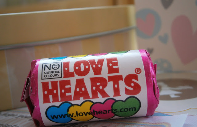 loveheart gift sweets traditional favourite childrens sweet
