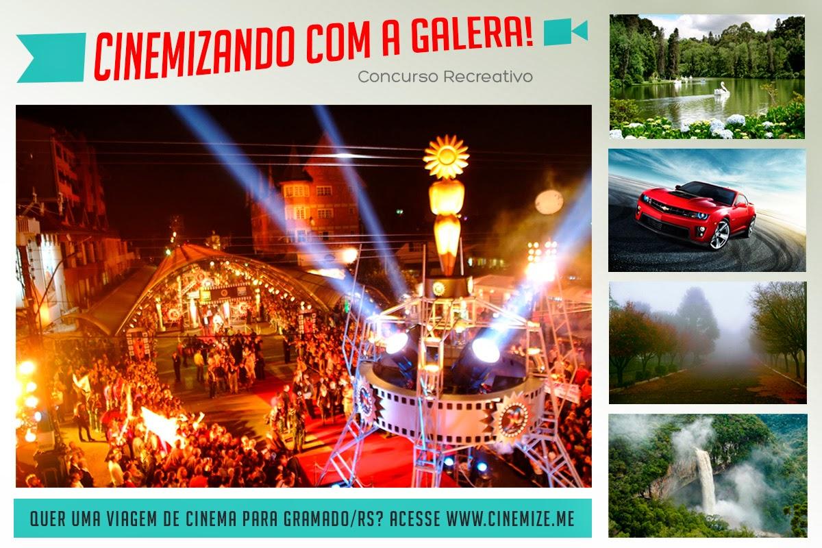 """Promoção do Cinemize.me - """"Cinemizando com a Galera"""""""