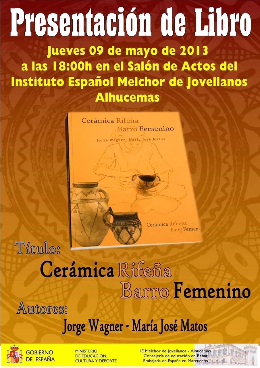 Ie melchor de jovellanos alhucemas aaee presentaci n for Libro in ceramica