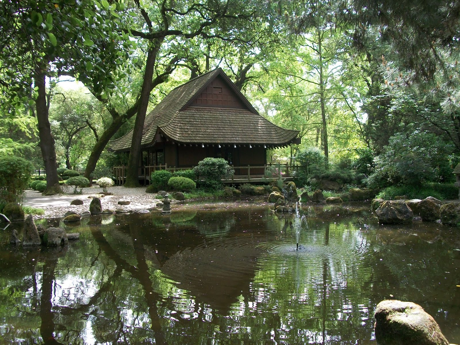 Life of the pattersons japanese garden micke grove zoo for Landscaping rocks lodi ca