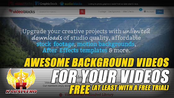Awesome Background Videos For Your Videos Free