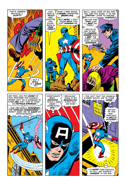 Captain America (1968) Issue #157 #71 - English 4