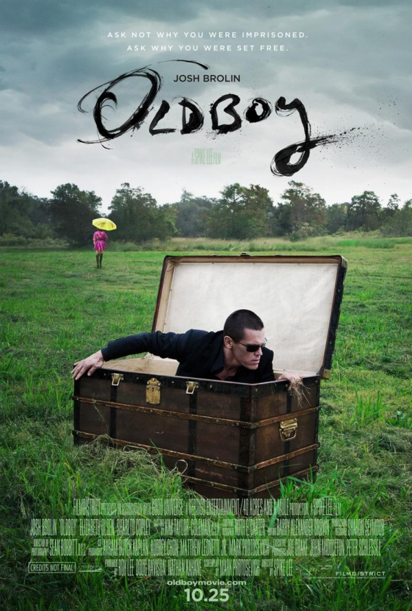Old Boy: primer poster del remake americano
